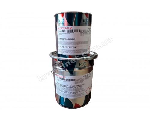 Белый двухкомпонентный полиуретановый грунт HS230500