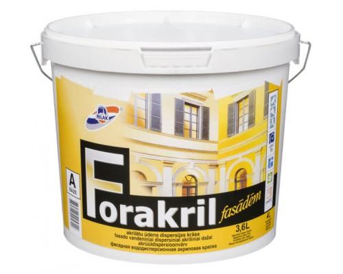 Атмосферостойкая акриловая краска Forakril