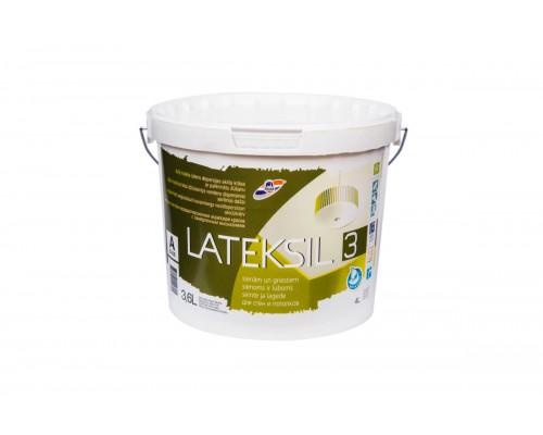 Акриловая краска с замедленным высыханием LATEKSIL 3