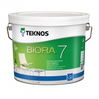 Матовая акрилатная краска для стен Biora 7
