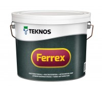 Антикоррозионная матовая краска Ferrex