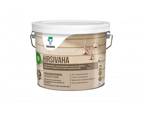 Воск для обработки бревенчатых поверхностей Hirsivaha