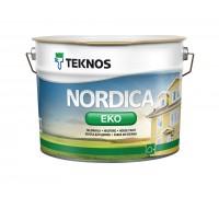 Nordica Eko акриловая глянцевая краска для домов