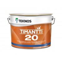 Полуматовая акрилатная спец краска Timantti 20