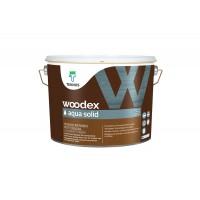 Кроющий антисептик Woodex Aqua Solid