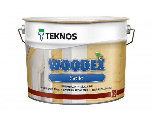 Кроющий антисептик Woodex Solid