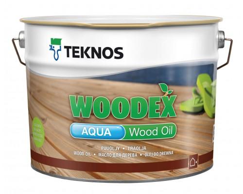 Водорастворимое масло для дерева Woodex Aqua Wood Oil